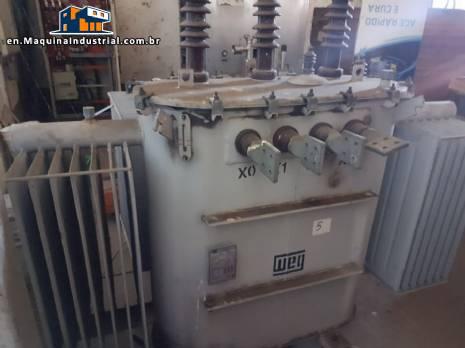 Electric oil transformer 500 kva WEG