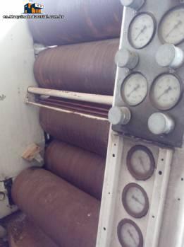 Refiner with 5 rolls brand Maschinenfabrik Heidenau