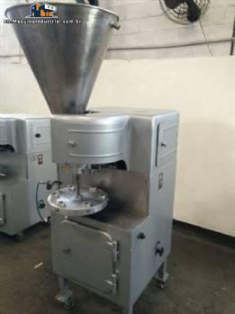 Filling / semi-automatic Fechadora metal tubes - N