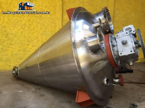Conemix powder mixer 3,000 L Semco