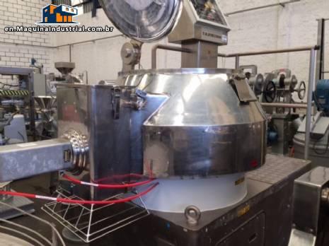 Rotary granulator mixer high shear TK Fielder